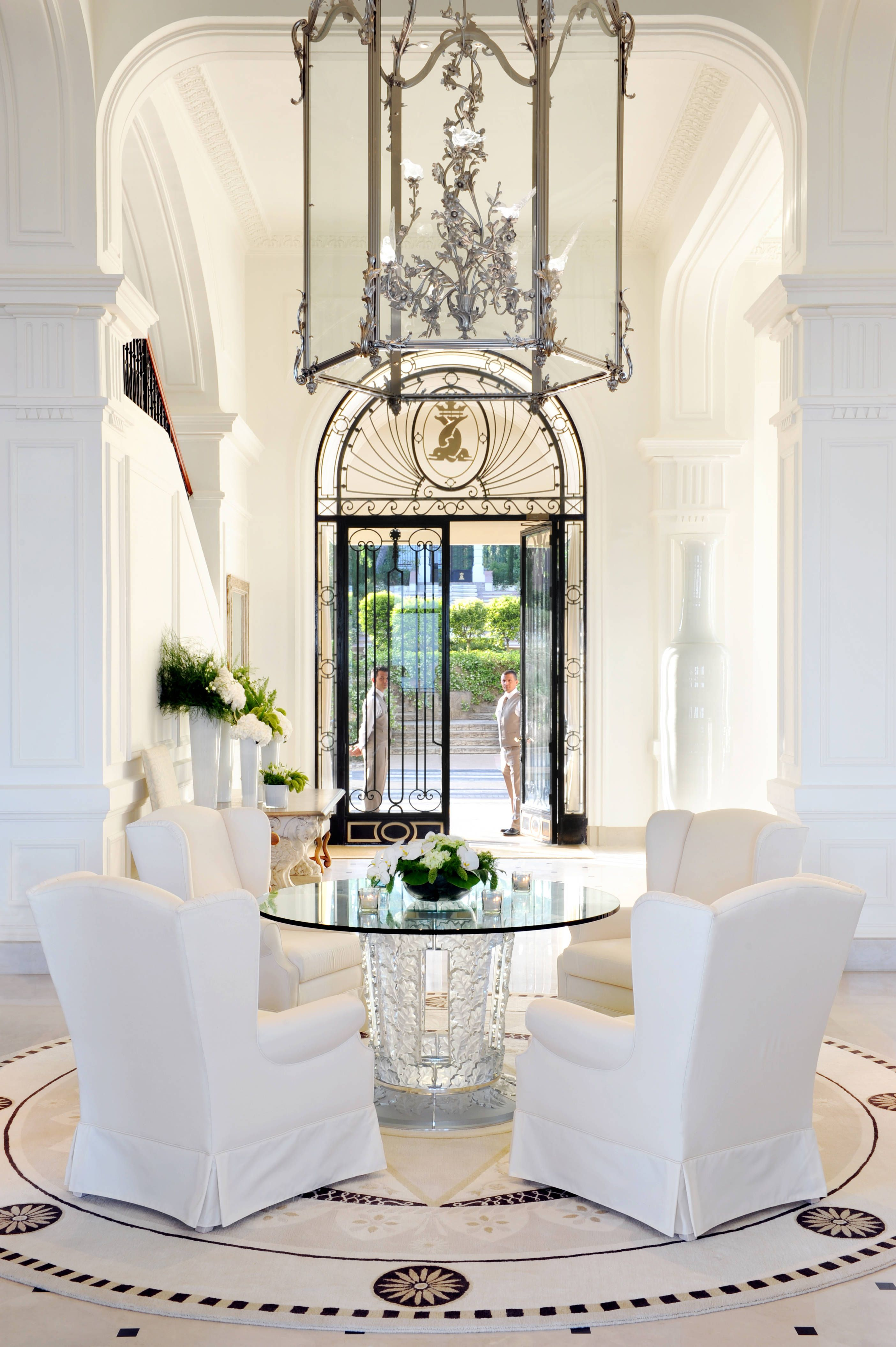 High Quality Grand Hotel Du Cap Ferrat, France May 2009. French RivieraHouse  EntranceEntrance ...