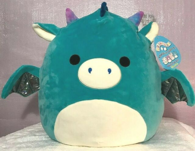 Squishmallow Tatiana The Dragon Sz 20 Pillow Squooshems Kellytoy Squishmallows For Sale Online Cute Stuffed Animals Ty Stuffed Animals Plush Stuffed Animals