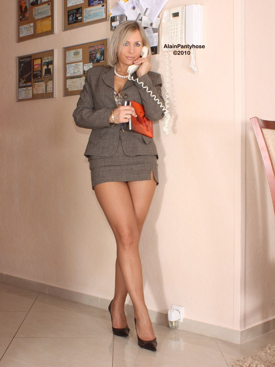 Mature Pantyhose  Legs  Pinterest  Skirt Suit, Legs And -8203