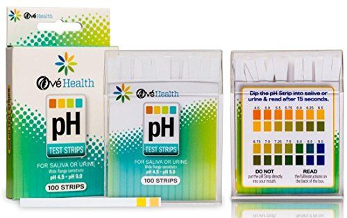 100 Ct Paradisiacal Popular Ph Healthy Test Strips Quickly Monitor