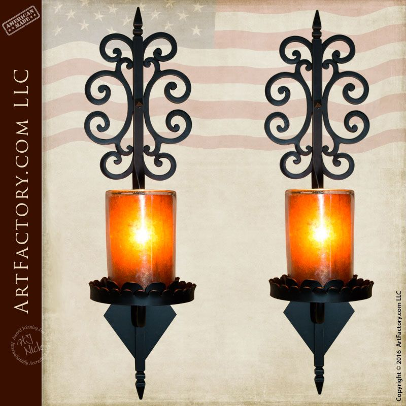 Vintage Black Wrought Iron Wall Sconces | Wrought Iron Wall Sconce Traditional Wall Sconces Pictures to  sc 1 st  Pinterest & Vintage Black Wrought Iron Wall Sconces | Wrought Iron Wall Sconce ...