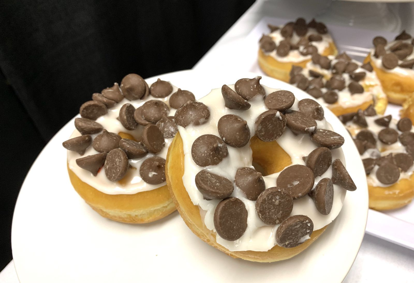Dunkin's New Holiday Donut Is Covered In Mini Hershey's