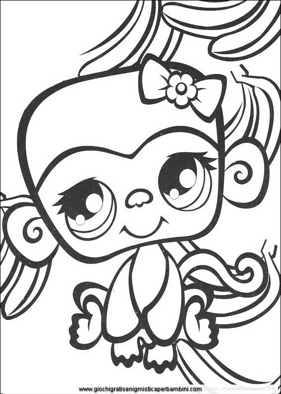 my little pet shop coloring pages google sgning - Littlest Pet Shop Coloring Page