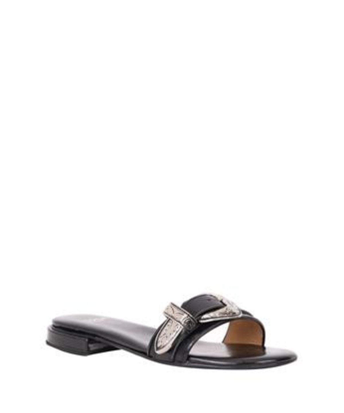 Toga Patent Leather Slide Sandals sale online shop JhhLiYJSH7