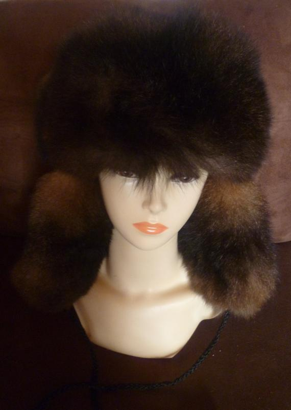 New Zealand Possum Natural Brown Outside Fur Man/'s Bush Hat