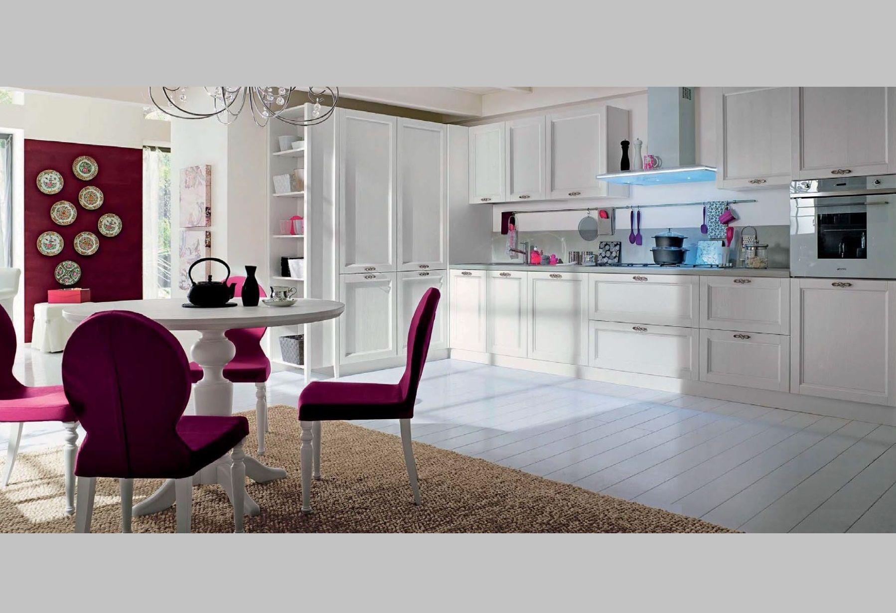 Cocina lacada blanca   Mueble clásico en 2019   Muebles para ...