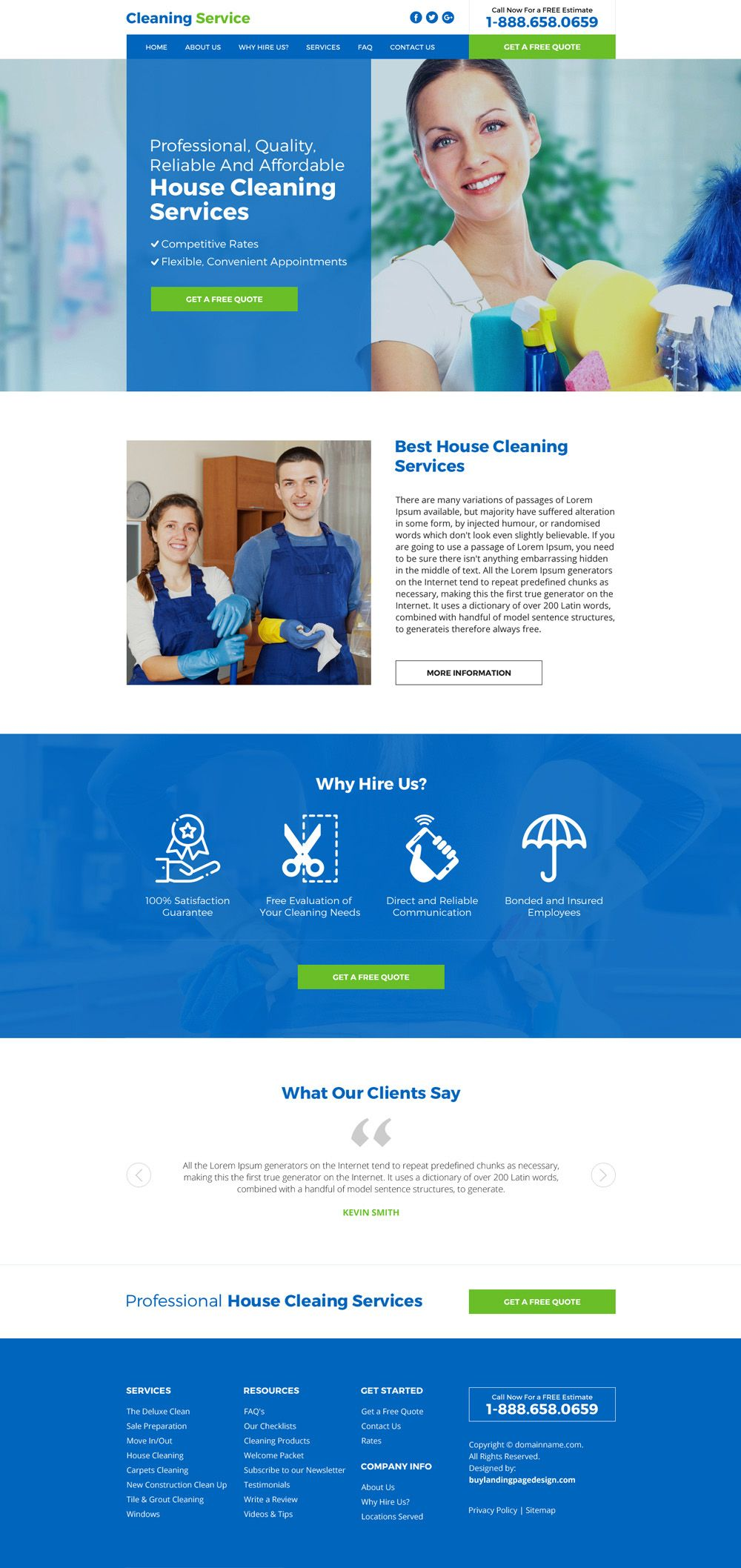 httpswwwbuylandingpagedesigncompreviewhouse cleaning