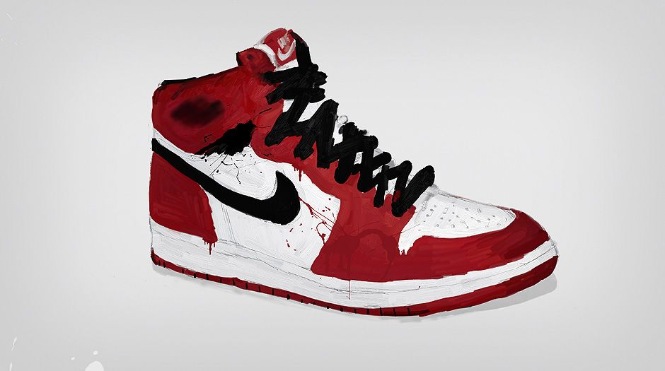 nike air force one bianche e rosse