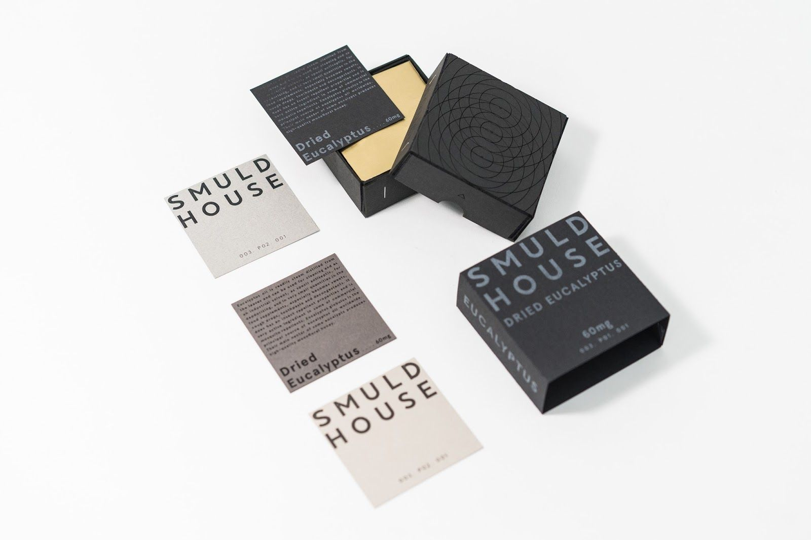 SMULD HOUSE- Scented Identity | Creative package design, Package ...