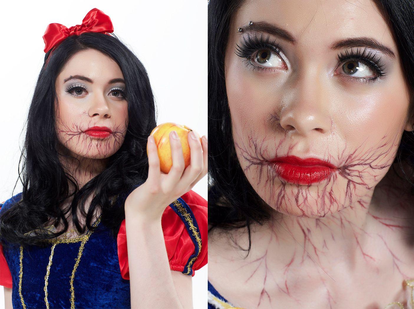 poisoned snow white - Google Search   Makeup   Pinterest   Snow ...