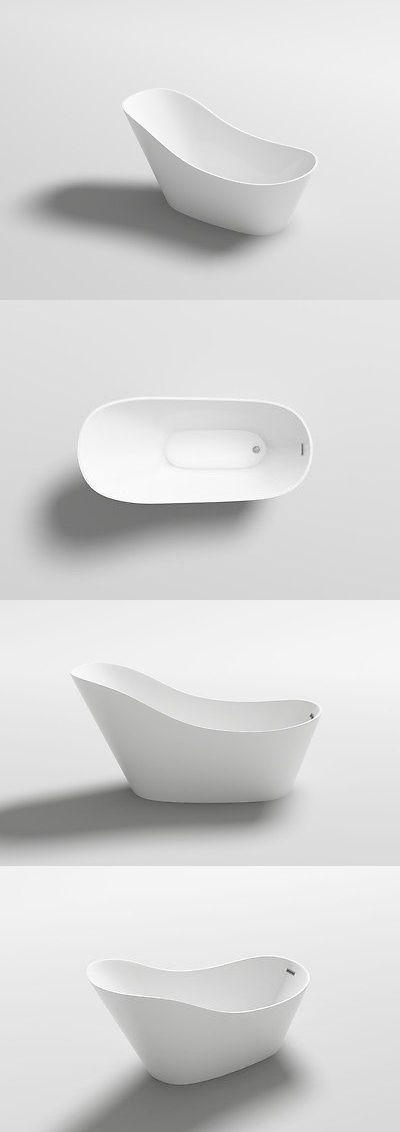Bathtubs 42025: Acrylic Modern Freestanding Soaking Bath Tub Spa ...