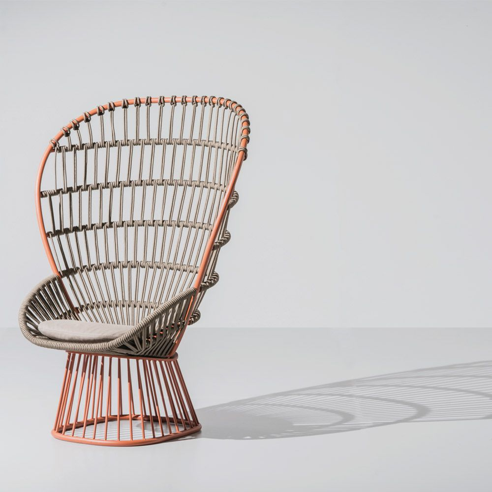 CALA Arm Chair + Doshi Levien + KETTAL + Outdoor