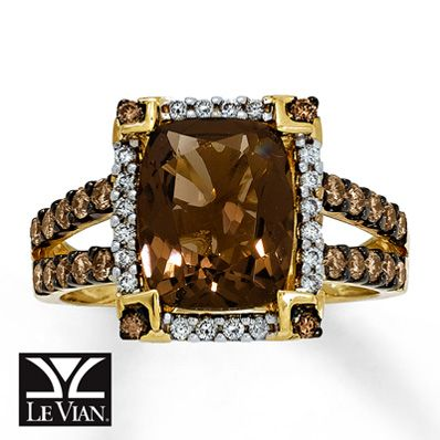 Yummy Chocolate Diamond Engagement Rings Le vian Diamond and