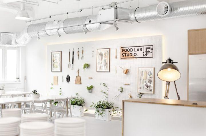 Food Lab Studio By Lange Lange Warsaw Poland Retail Design Blog