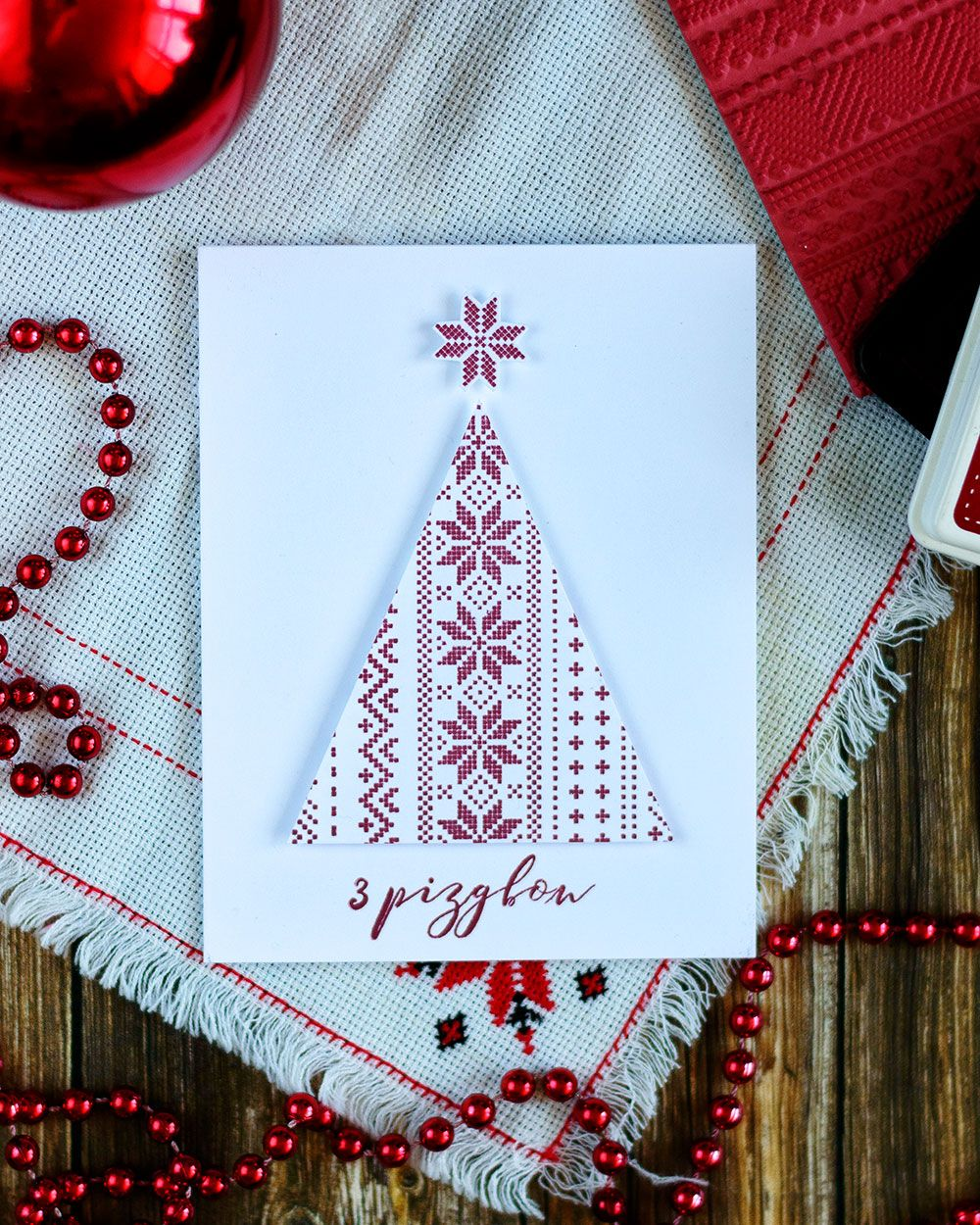 Ukrainian christmas card featuring embroidery christmas tree for ukrainian christmas card featuring embroidery christmas tree for simon says stamp world cardmaking day details m4hsunfo