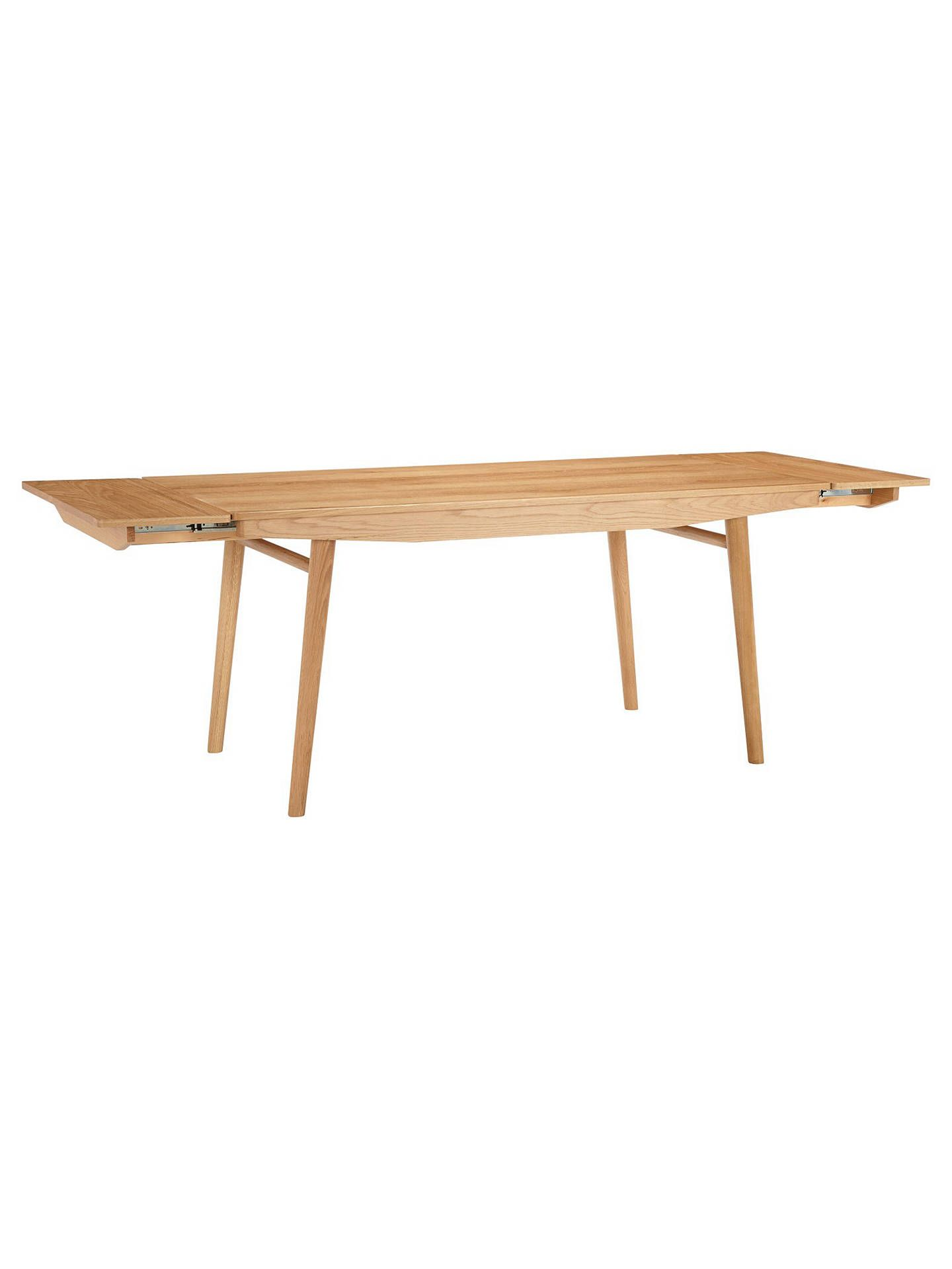 House By John Lewis Bow 6 8 Seater Extending Dining Table Extendable Dining Table Dining Table House By John Lewis