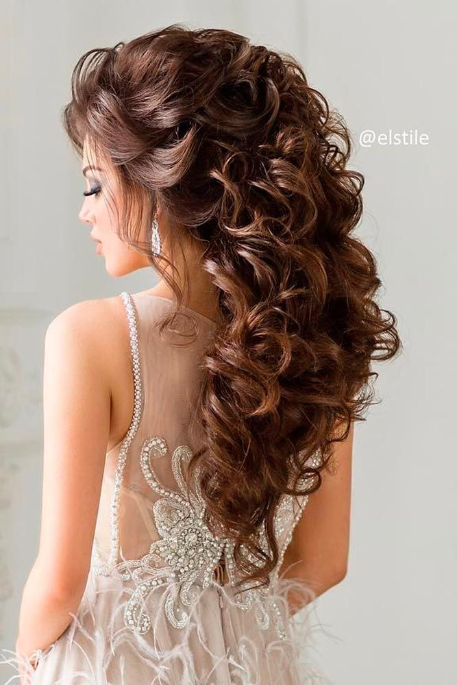 33 Elegant Wedding Hairstyles for Long Hair | h a i r ...