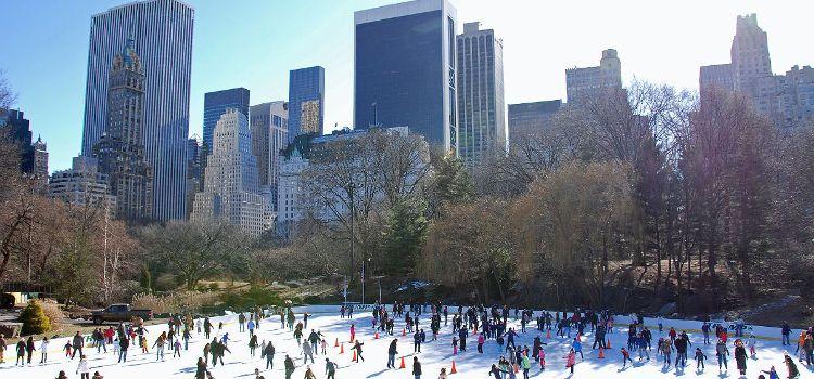 Nueva York patinaje hielo wollman rink