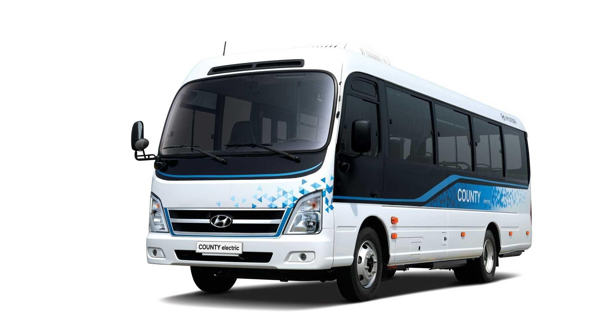 Hyundai COUNTY Interior