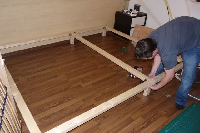 unterkonstruktion familienbett pinterest familien bett bett und familienbett. Black Bedroom Furniture Sets. Home Design Ideas