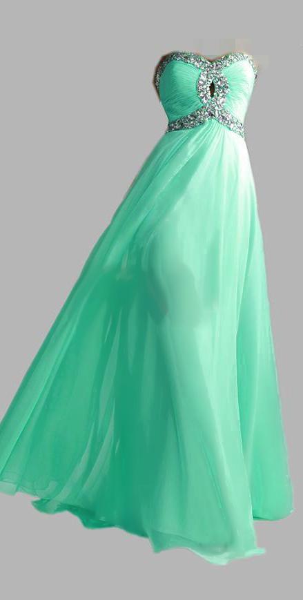 HOT Lime Green Aqua Sweetheart New | Lime green dresses, Strapless ...