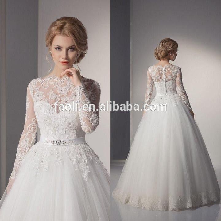 vestido de noiva manga de renda - Pesquisa Google
