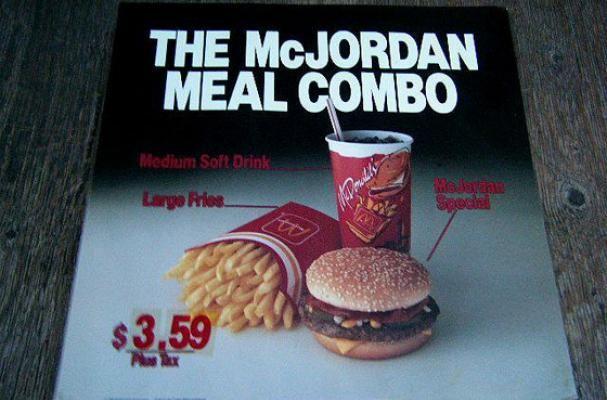 McJordan Meal - 1992