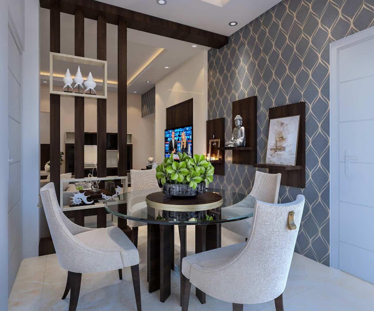 Crockery Units Luxury Interior Designers In Whitefield Home