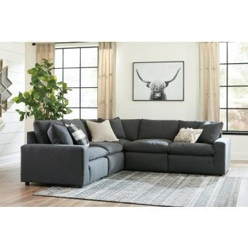 Get Your Savesto Charcoal 5 Pc Sectional At Furniture Factory Outlet Warsaw In