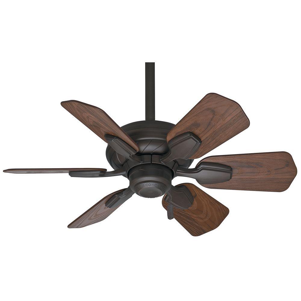 Casablanca 59525 32 Inch Indoor Outdoor Fan In Brushed Cocoa With Dark Walnut Blades Outdoor Ceiling Fans Bronze Ceiling Fan Ceiling Fan