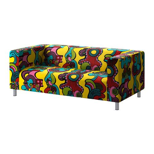 KLIPPAN Two Seat Sofa IKEA Extra Covers Are Available For Variation And  Renewal. Easy