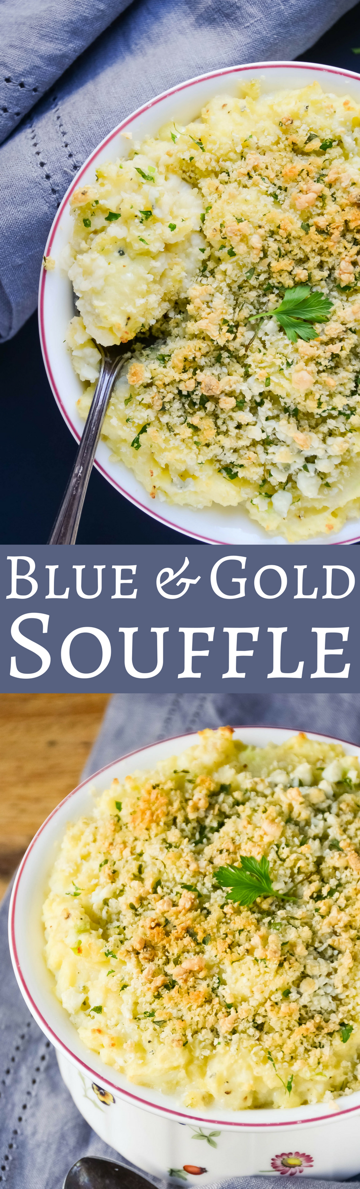 Your new favorite casserole, with fluffy Yukon Gold Potatoes and plenty of Blue Cheese.  Yum!  via @GarlicandZest