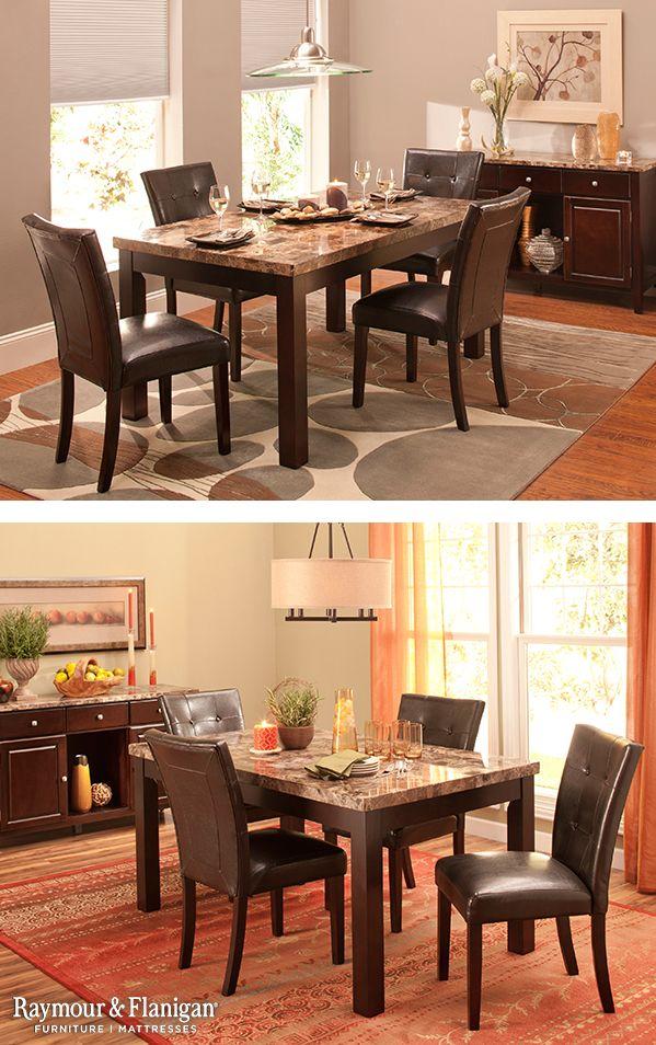 Bedrock Pc Marble Dining Set Decoration Ideas Pinterest - Bedrock marble dining table