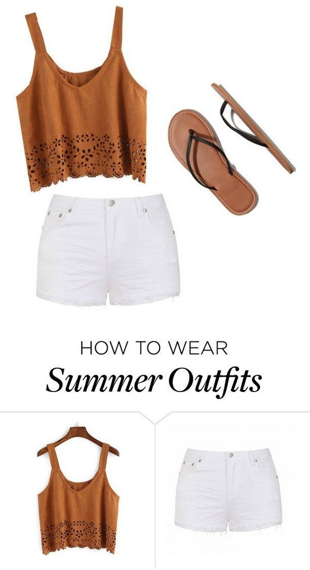 150 Pretty Casual Shorts Summer Outfit Combinations 92 With