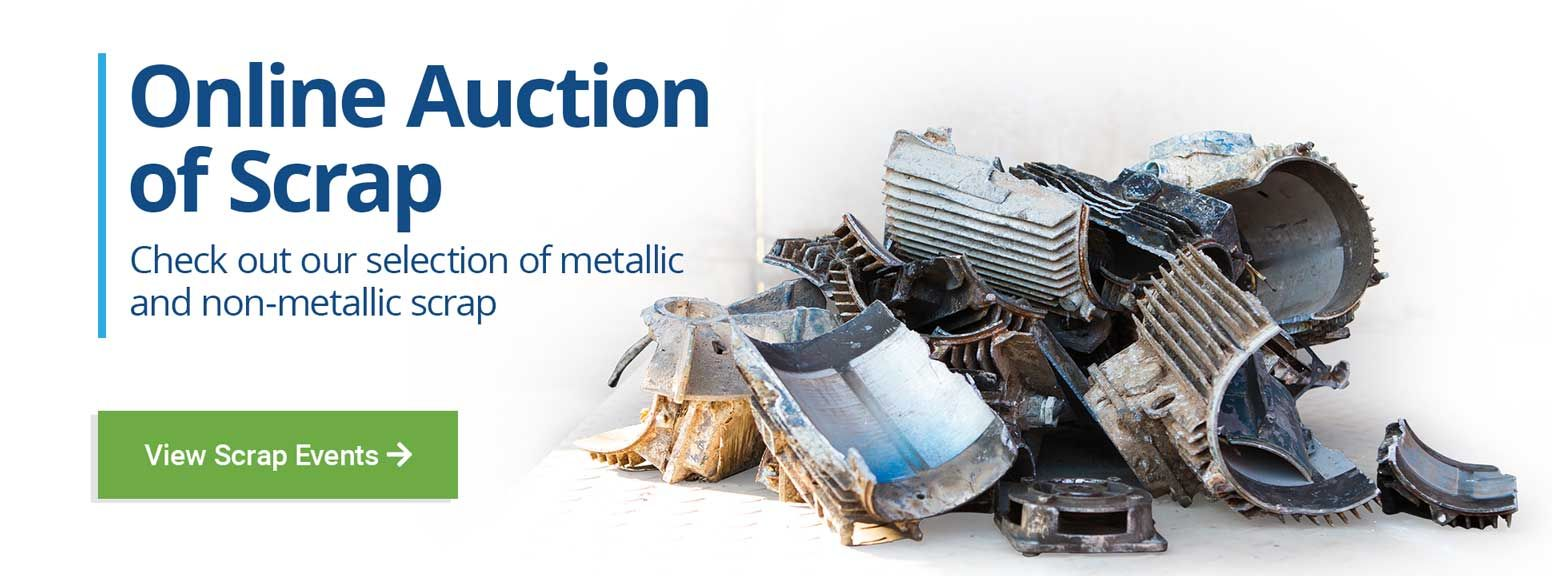 Government Liquidation Is Moving To Go Industry Dove Bid Metal For Sale Surplus Auction Auction