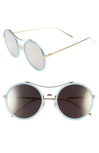 ed1252910a9 GENTLE MONSTER 52mm Round Sunglasses available at  Nordstrom. GENTLE MONSTER  52mm Round Sunglasses available at  Nordstrom Stylish Sunglasses