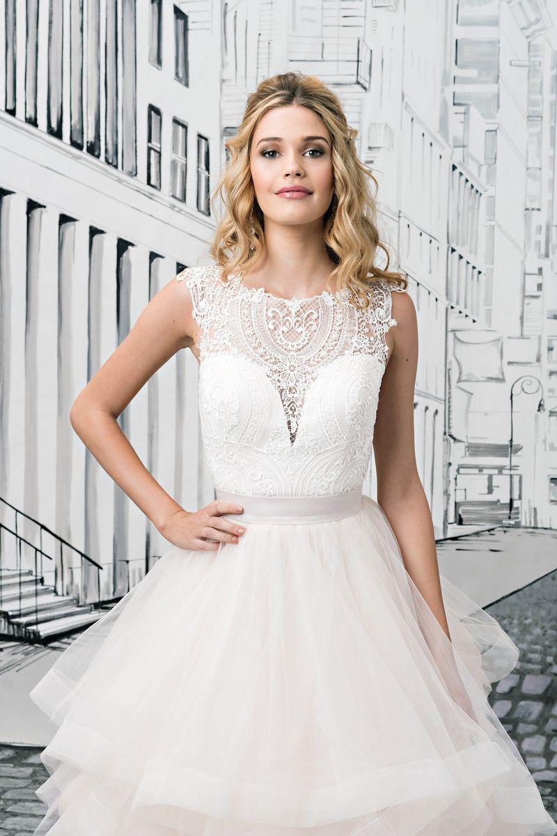 Illusion lace wedding dress  Justin Alexander BOD Illusion Lace Bodice  Wedding Accessories