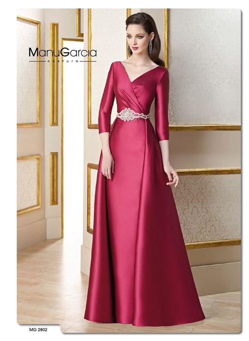 Vestido de fiesta color | Mujercitas | Pinterest | Vestidos de ...