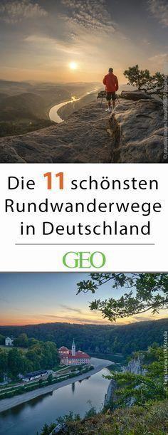 Die schönsten Rundwanderwege in Deutschland