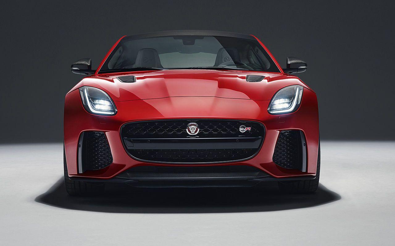 2019 Jaguar F Type Svr Rumor Will Use Supercharged V8 Engine Jaguar Introduced The Original Version Of Jaguar F T Jaguar F Type Jaguar Sport Cool Sports Cars
