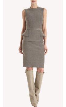 Givenchy Peplum Back Dress