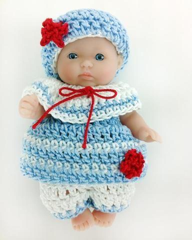 Moses Basket Baby Sailors Crochet Pattern