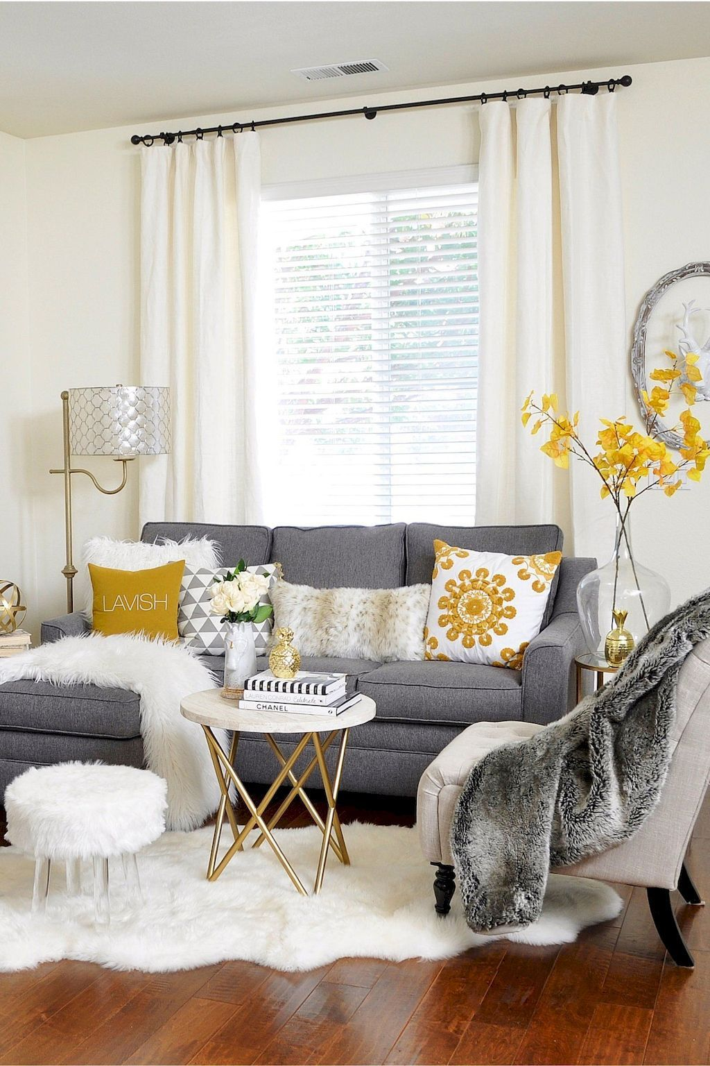 Cozy living room ideas for small apartments (70 | Cozy living rooms ...