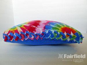 No Sew Fleece Pillow & No Sew Fleece Pillow   Crafts   Pinterest   Pillows Sewing ideas ... pillowsntoast.com