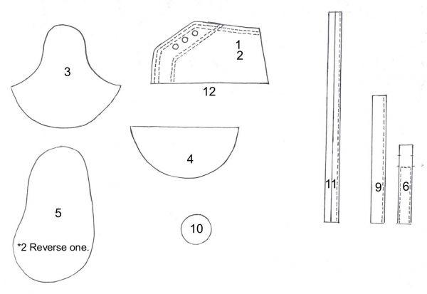 arpón Hora Arne  Converse template — Sketches, Patterns & Templates | Shoe template, Baby  converse shoes, Fondant baby
