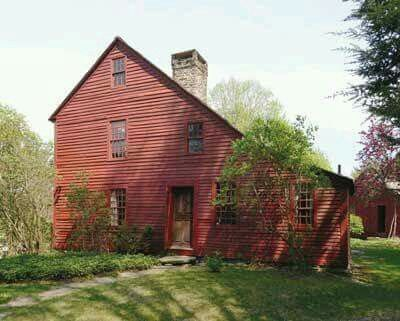 Pin By Janet Bednarczyk On The Cherry Red Cottage Colonial House Exteriors Early American Homes Saltbox Houses