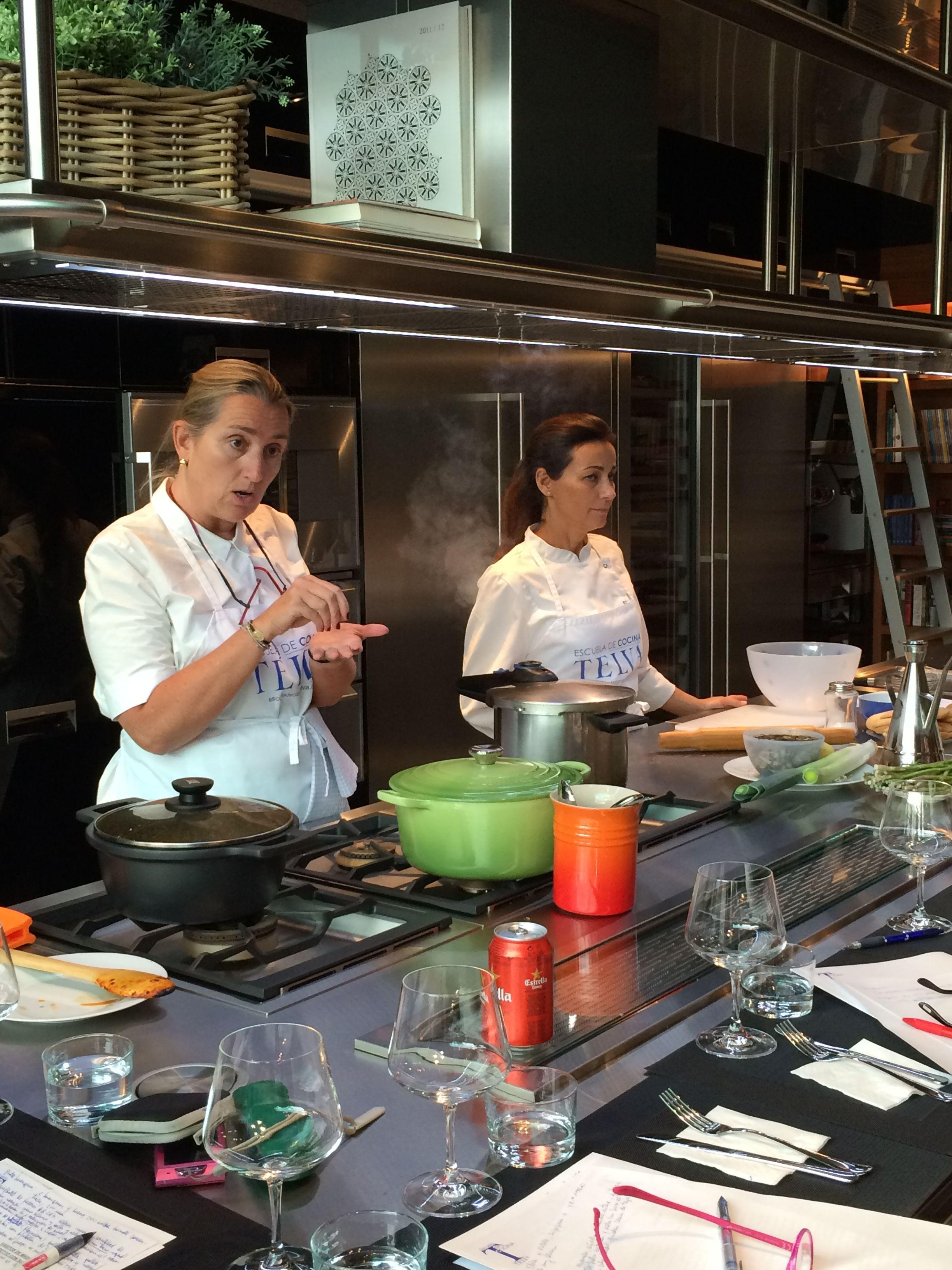 Master class de ses san mart n en arclinea barcelona - Escuela cocina barcelona ...