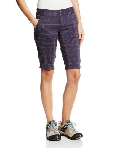 Columbia Sportswear Womens Saturday Trail II Plaid Shorts