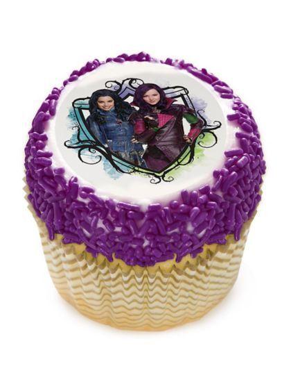Edible Cake Images Ingredients : Descendants 2
