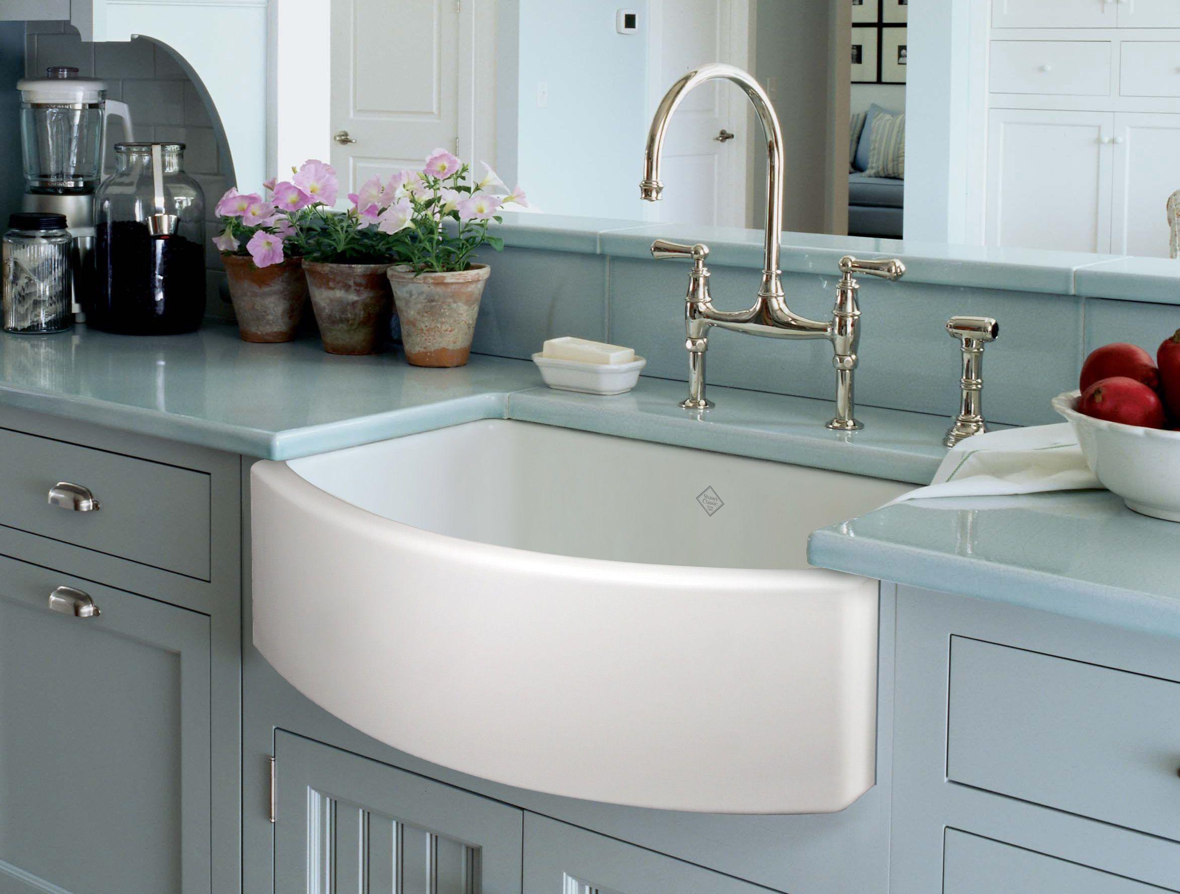 Ceramiczny Zlewozmywak W Kuchni Dlaczego Warto Wady I Zalety Learning From Hollywood Kitchen Sink Decor Rustic Kitchen Sinks Kitchen Sink Design